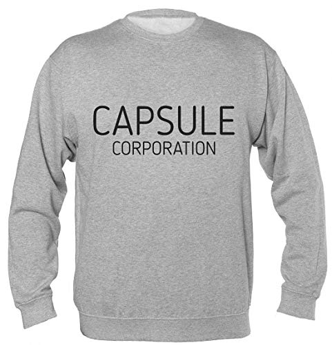Finest Prints Capsule Corporation Logo Unisex Sweatshirt Medium -