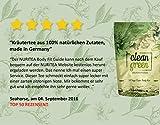 Clean Green Detox Tee - schnell und wirksam - 14 Tage Body Detox Tee Kur - 100% natürliche Kräuterteemischung - Grüner Tee, Brennnessel, Ingwer & Gojibeeren - Hergestellt in Deutschland - für Frauen und Männer - auch ohne Sport - vegan - Nurigreen - 4