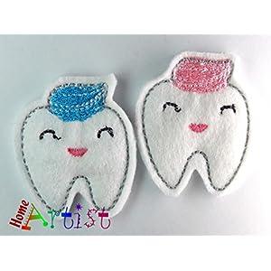 Zahnfee Zahn Haarspange - freie Farbwahl