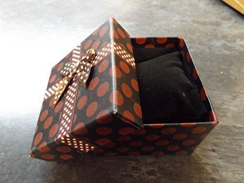 5 Noires qualit/é bijouterie montre bracelet bague collier /écrin cadeau de luxe matelass/é insert 8.5cm x 8cm x 5cm Post/é de London by Fat-catz