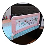 #7: Safe-O-Kid Washable Bed Rails (Pink)