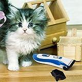 Tontec® Tierhaarschneider für Hunde oder Katzen Akku Schermaschine Tierhaarschneidemaschine Trimmer Rasierer Keramik Tierschermaschine - 7