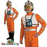 Star Wars-Das Erwachen der Macht - X-Wing Fighter Pilot Deluxe Kostüm Herren Gr. XL
