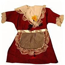 Welsh Lady Traditional Costume Set St Davids Day [2-3years] other sizes available in our store (disfraz)