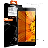 Nexus 5x Screen Protector, Spigen [Tempered Glass] Most Durable [Easy-Install Wings] Nexus 5x Rounded Edge Glass Screen Protector - Glas.tR SLIM (SGP11815)
