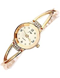 Beneary Relojes Mujer Pulsera Oro Rosa Cadena Rhinestone