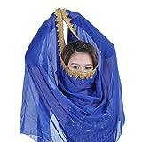 Bauchtanz Kostüm Chiffon Ordnung Schleier Schal Gesichts Schal Kopftuch