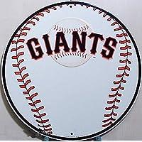 Giants Baseball US Sport rundes targa placca metallo piatto Nuovo 30x30cm VS880-1