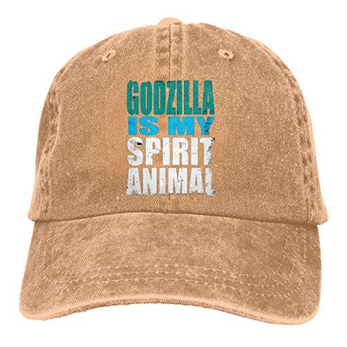 Rasyko Godzilla is My Spirit Haustier-Hut für den Sommer, mit Hitzeschutz, Unisex, für Erwachsene -