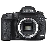 كانون اي او اس 7D مارك II, بدون عدسات - 20.2 ميجابيكسل, كاميرا دي اس ال ار, اسود