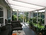 Floracord Sonnensegel Bausatz Universal 420 x 140 cm uni, weiß