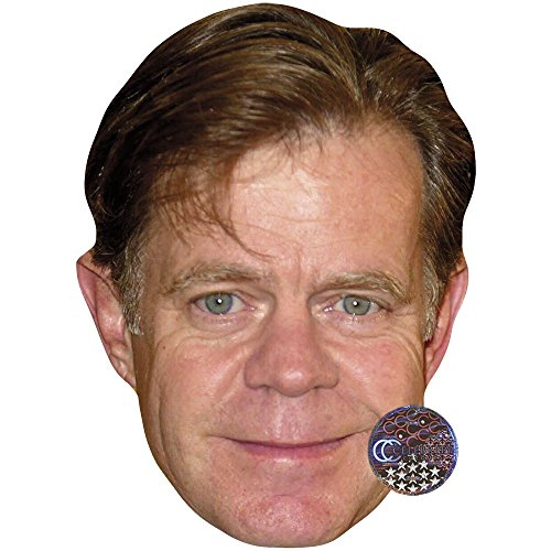 Celebrity Cutouts William H. Macy Maske aus Karton
