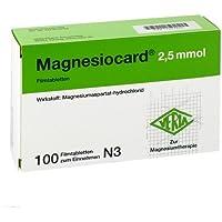 Magnesiocard 2,5 Mmol Filmtabletten 100St preisvergleich bei billige-tabletten.eu