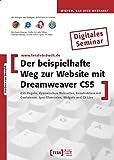 Der beispielhafte Weg zur Website mit Dreamweaver CS5