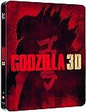 GODZILLA 3D +2D STEELBOOK Blu-Ray (EU-IMPORT ohne deutschen Ton) Neu & OVP