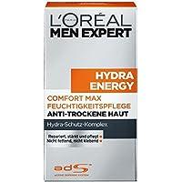 L'Oreal Men Expert Hydra Energy Comfort Max Feuchtigkeitspflege, Anti-Trockene Haut, 50 ml