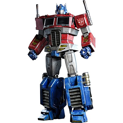 Hot Toys 1:6 Scale Action Doll TF001 The Transformers Generation 1 Optimus Prime Starscream Version
