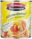 Sonnen Bassermann Möhren-Topf, 800 g Dose