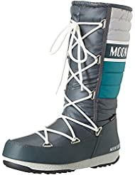 Moon Boot - W.E. Quilted - , homme, multicolore (bianco/blu/rosso), taille