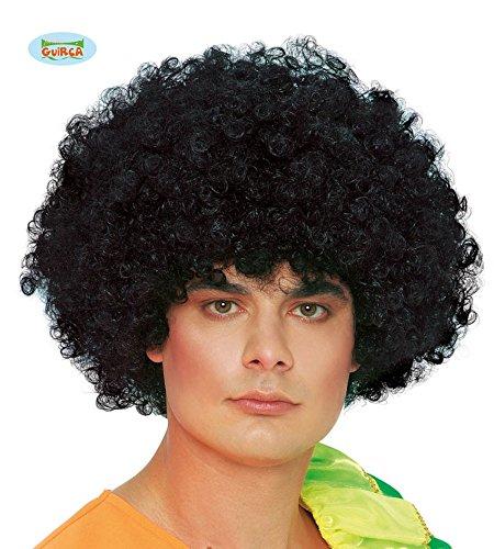 Guirca Fiestas gui4361–Gigante Peluca Negra rizos