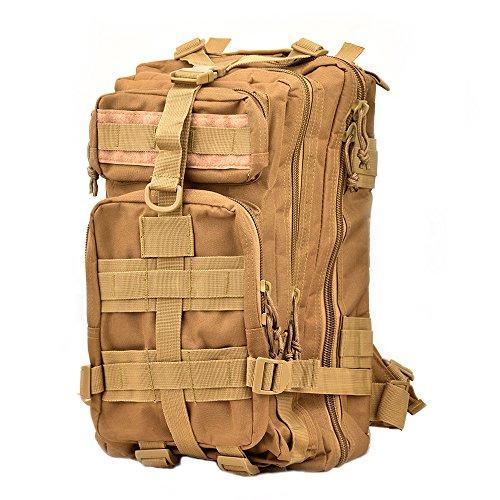 Tattico Militare Zaino, TOPQSC, Alla Moda 30L Diversi Colori Escursionismo