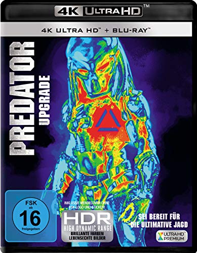 Predator - Upgrade [4K Ultra HD + Blu-ray]
