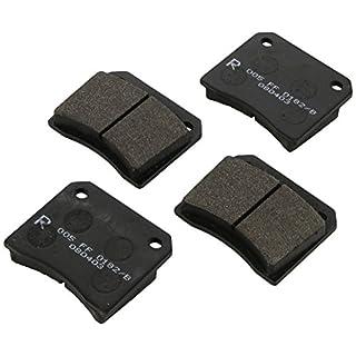 ABS All Brake Systems bv 36001 Bremsbeläge - (4-teilig)