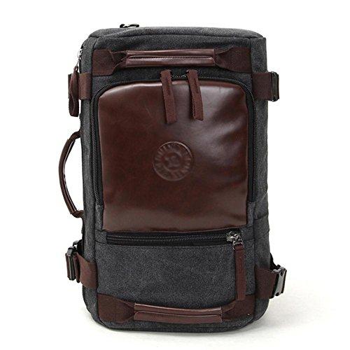 SZH&BEIB Fashion Canvas Rucksack Unisex Outdoor-Reisen Gelegenheits Daypack für Schule oder Arbeit Laptop-Tasche C