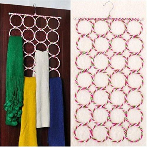 CanVivi Accessoires Bügel Kleiderbügel Krawattenhalter Schalbügel Halstuch Aufhänger mit Zufällige Farbe