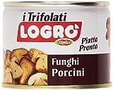 D'Amico - Logró, Funghi Porcini Trifolati, Piatto Pronto - 180 g
