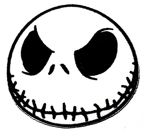 (Das Skelett Nightmare Before Christmas Halloween Patch Jacke T-Shirt Patch Sew Iron on gesticktes Badge Schild oder)