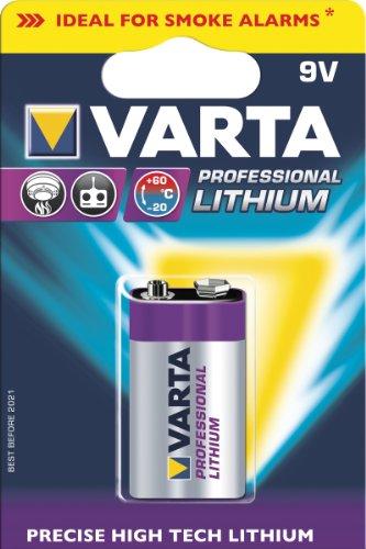 "Preisvergleich Produktbild Batterien ""Professional Lithium"" VARTA LI-BATTER. 9V BLOCK 6122301401"