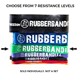 Rubberbanditz Pull Up/CrossFit Band - Power - 50-120 lbs. (23-54 kg) - Resistance with Pullup PDF