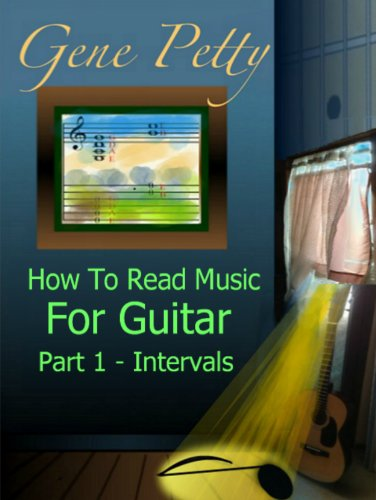 How To Read Music For Guitar Part 1 - Intervals (Guitar Note Reading Through Interval Training with Musical Fundamentals and Theory Based on Guitar Tuning Design) (English Edition)