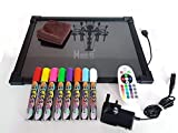Sensorial iluminación LED de dibujar/escritura tablero juguete para necesidad especial, autismo, ADHD - 40 by 30cm