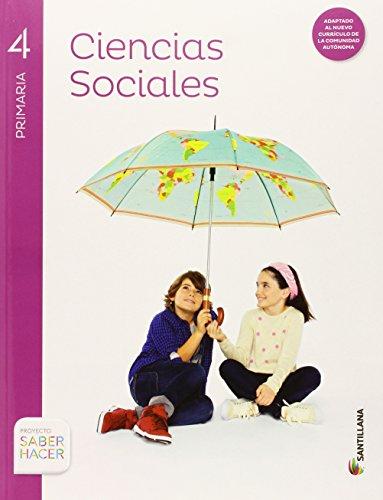 CIENCIAS SOCIALES CAST Y LEON + ATLAS 4 PRIMARIA