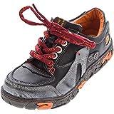 Comfort Damen Sneakers Leder Schuhe Schwarz Grün Weiß Gelb Turnschuhe Schnürer Halbschuhe