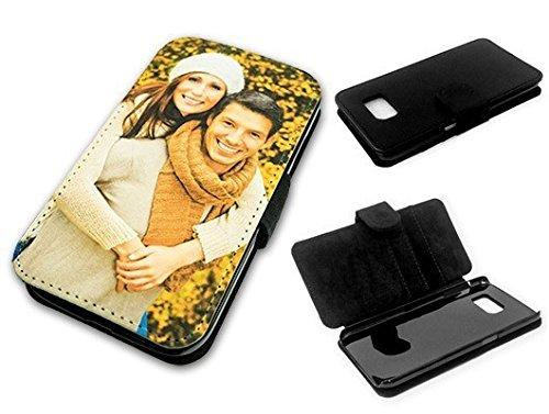Flipcase Etui für Samsung Galaxy-Serie mit eigenem Foto und Text * Flip Tasche Handy Book Schutzhülle, Flipcase Samsung:Samsung Galaxy S4 Mini