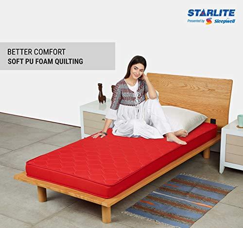 Sleepwell Starlite Discover Firm Foam Mattress (72*35*4) Image 4