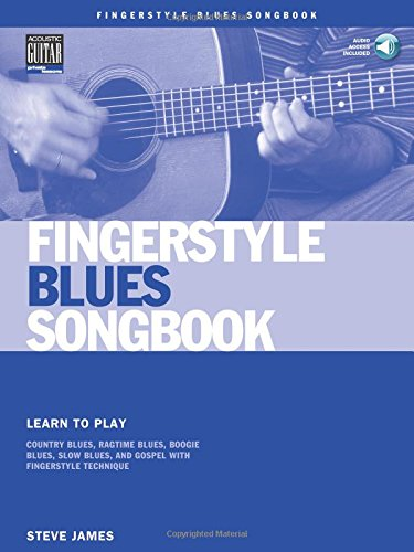 Fingerstyle Blues Songbook Guitare +CD (Acoustic Guitar Private Lessons)