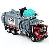 VERY100 1 / 24 Große Diecast Modell Busse Spielzeug Müllwagen Autorama Brinquedo Umweltfreundliche Auto Transportfahrzeug Modell Spielzeug Geschenk Für Jungen