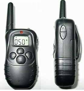 Esky àCollier de dressage et l'entraînement Rechargeable du collier de chien avec l'écran LCD télécommande 998DR 1 à 1