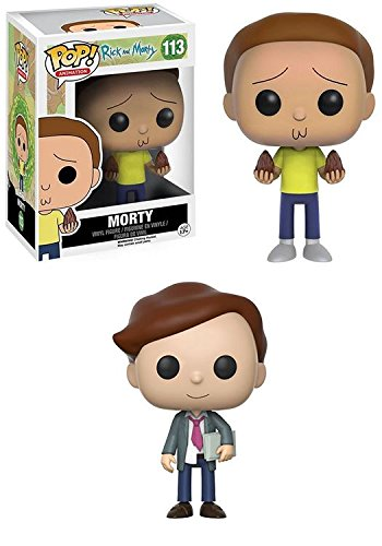 Funko POP! Rick & Morty: Morty + Lawyer Morty – Stylized Vinyl Figur
