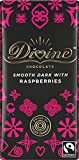 Divine Dark Chocolate with Raspberries 100g