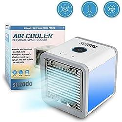 Aire Acondicionado Móvil Ventilador USB Portátil Ventilador de Aire Personal Poderoso para Oficina Del Dormitorio