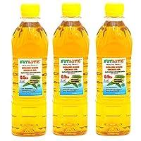 FITLITE Pack of 3 Healthy Sesame Oil 0.5 LTR
