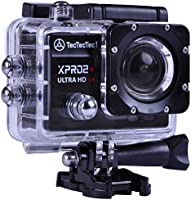 NUOVO TecTecTec XPRO2+ Action Camera 4K Ultra HD Wifi Videocamera