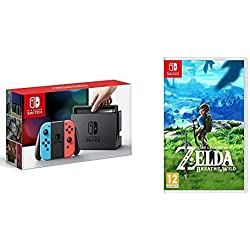 Nintendo Switch + The Legend Of Zelda: Breath Of The Wild