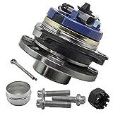 maXpeedingrods 1x 4 Loch Radlager Radnabe Radlagersatz mit ABS für Astra G Vorne Bj 98-05