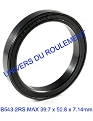 ROULEMENT A BILLES 39.7x50.8x7.14 mm B543 2RS MAX 1pc DIRECTION VELO CANNONDALE